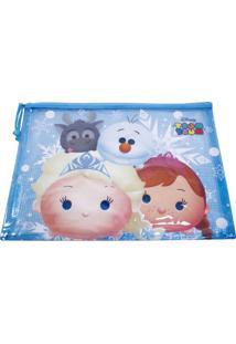 Necessaire Minas De Presentes Frozen Tsum Tsum Azul