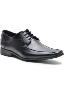Sapato Social Lsb Shoes Gran Fino Confort Leve Masculino - Masculino-Preto