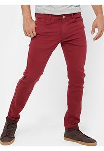 Calça Skinny Rock & Soda Color Masculina - Masculino