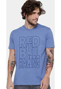 Camiseta Red Bull Racing Color Masculina - Masculino
