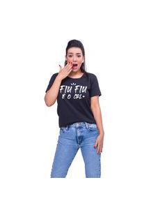 T-Shirt Fiu Fiu Preto
