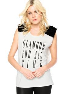 Regata Carmim Glamour Off-White