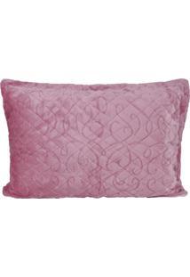 Porta Travesseiro De Plush Blush