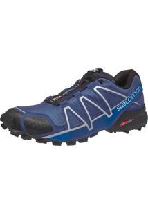 Tênis Salomon Masculino Speedcross 4 Azul 45