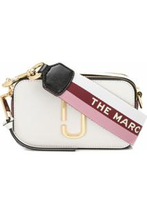 Marc Jacobs Bolsa Transversal The Snapshot - Branco