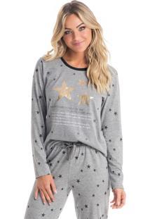 Pijama Moon Mescla/M