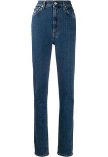 Helmut Lang Calça Jeans Slim - Azul