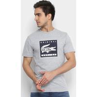 ed36618f2e0 Camiseta Lacoste Estampada Masculina - Masculino