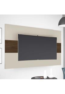 Painel Para Tv Até 52 Polegadas 1.66 Drovo Off White/Capuccino - Móveis Germai