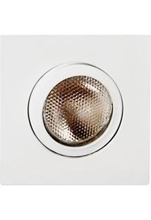 Spot Embutir Quadrado Par 20 Orientável Face Reta Aletado - Mf 164 Br - Metal Tecnica