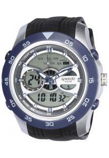 2c22cf9a8d21a ... Relógio Digital Analógico Speedo 81126G0 - Masculino - Preto/Azul -16%  Centauro