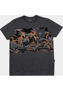 Camiseta Quiksilver Silent Fury Masculina - Masculino