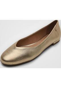 Sapatilha Bottero Metalizada Dourada