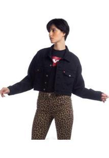 Jaqueta Jeans Levis Trucker Pleat Sleeve - 10001 - Feminino