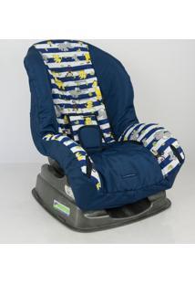 Capa Para Cadeira - Safari Listra Azul