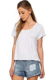 Camiseta Roxy Essential Branca
