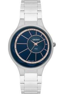 Relógio Feminino Orient Analógico Fbss0073/D1Sx - Unissex-Prata