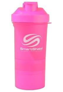 Coqueteleira Smart Shaker Rosa - Unissex