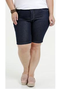 45be31caa0 ... Bermuda Feminina Jeans Stretch Plus Size Marisa