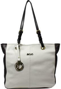 Bolsa Em Couro Recuo Fashion Bag Baú Cacau/Chocolate