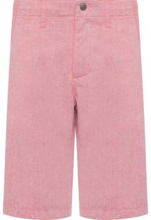 Bermuda Masculino Color Five Pockets - Rosa