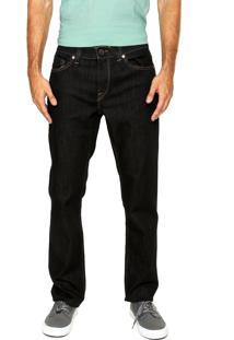 Calça Jeans Volcom Jeans Solver Azul