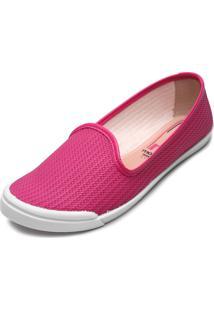 Alpargata Moleca Textura Pink - Kanui