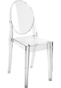 Cadeira Mari Cristal Transparente - By Haus