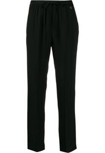 Twin-Set Drawstring Trousers - Preto