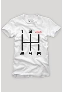 Camiseta Quinta Marcha Reserva Masculina - Masculino-Branco