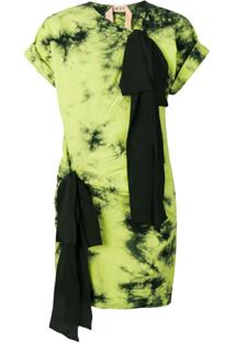 Nº21 Vestido Tie Dye - Verde
