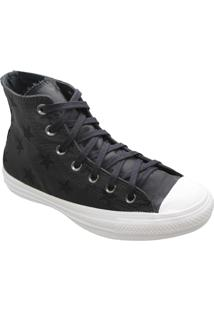 Tênis Converse All Star Chuck Taylor Twisted Archive Hi Preto Branco Ct13680001 - Kanui