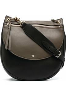 Tila March Bolsa Hobo Annabelle - Preto
