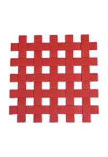 Descanso Para Panela De Silicone 17Cm Kenya Vermelho