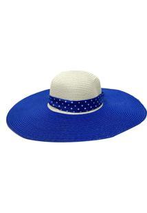 Chapéu De Palha Zohar Luigi Azul