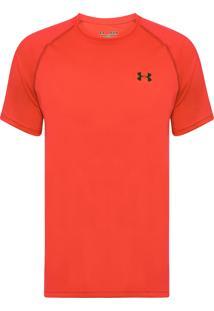 Camiseta Masculina Tech Tee Brazil - Laranja