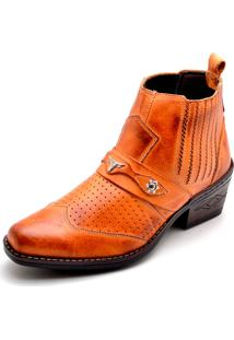 Bota Country Clube Do Sapato De Franca Torino Whisky