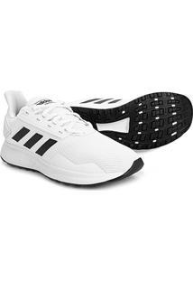 Tênis Adidas Duramo 9 Masculino - Masculino-Branco+Preto