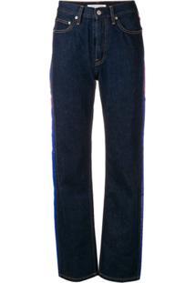 Calça Calvin Klein Listras feminina  de6157ac177