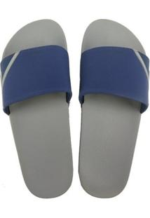 Chinelo Ous Rider - Masculino-Cinza