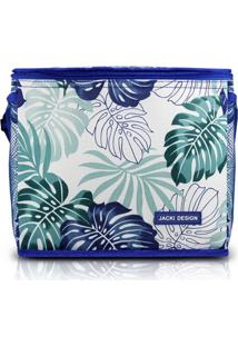 Bolsa Térmica Jacki Design Tropicália Azul - Kanui