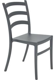 Cadeira Nadia- Grafite- 85,5X44,5X52Cm- Tramontitramontina