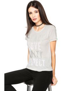 Camiseta Ellus Peace Bege