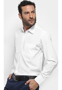 Camisa Social Watkins & Krown Lisa Masculina - Masculino-Branco