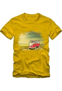 Camiseta Milá Kombi Casual Masculina - Masculino