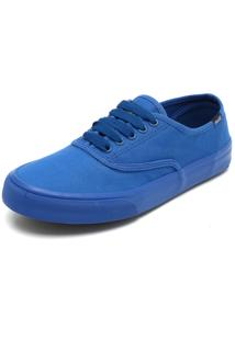 Sapatênis Coca Cola Shoes Recortes Azul