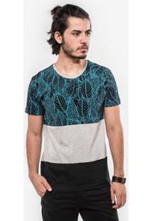 Camiseta Hermoso Compadre Recorte Folhas - Masculino