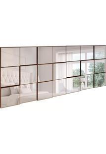 Espelho Decorativo Anubis Retangular Nobre Fosco 175 Cm