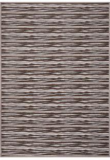 Tapete Pratik Abstrato- Marrom & Bege Claro- 200X140Oasis