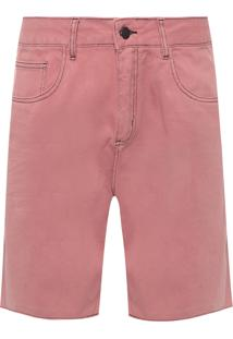 Bermuda Masculina 5 Pockets Color New - Rosa